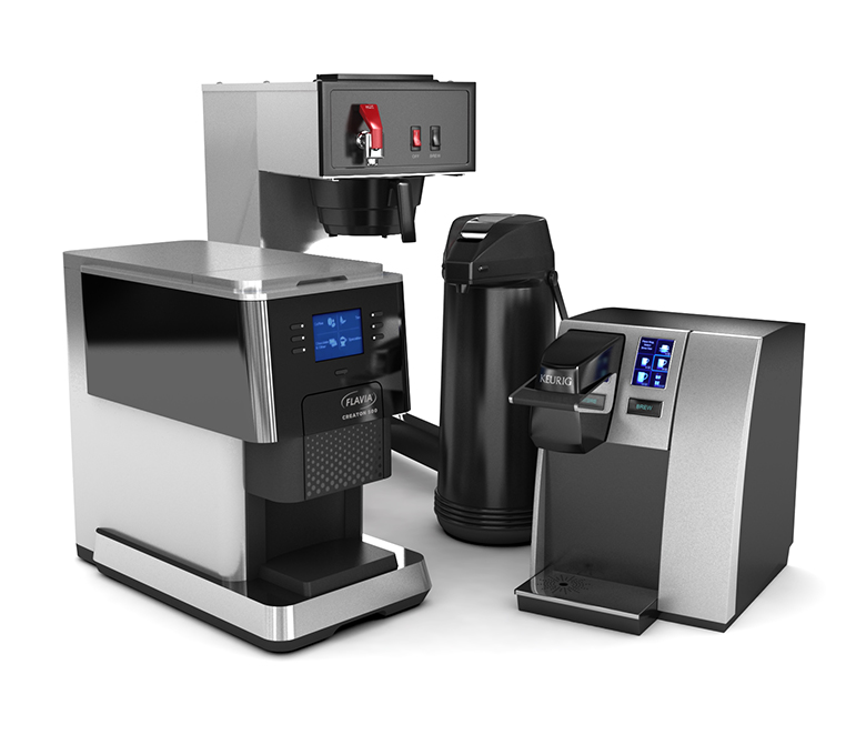 Coffee and tea breakroom equipment